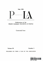 Publications of the Modern Language Association of America PDF