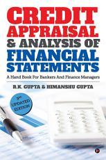 CREDIT APPRAISAL   ANALYSIS OF FINANCIAL STATEMENTS PDF