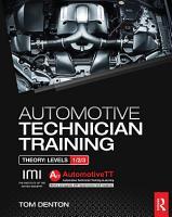 Automotive Technician Training  Theory PDF