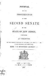 Journal of the Proceedings of the ... Senate of the State of New Jersey