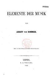 Elemente der Musik