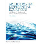 Applied Partial Differential Equations with Fourier Series and Boundary Value Problems  Classic Version  PDF