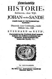 Nederlandtsche historie, dienende voor continuatie van de historie