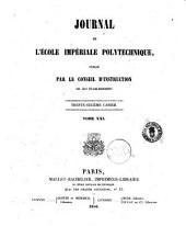 Journal de l'ecole imperiale politechnique