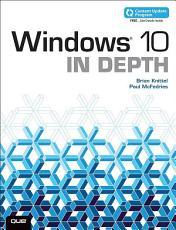 Windows 10 In Depth  includes Content Update Program  PDF