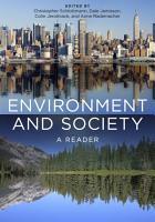 Environment and Society PDF