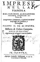 Impressa nella fiandra del S. Alessandro Farnese
