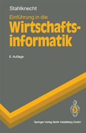 Einführung in die Wirtschaftsinformatik: Ausgabe 6