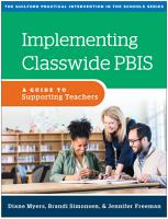 Implementing Classwide PBIS PDF