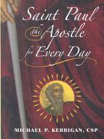 Saint Paul the Apostle for Every Day PDF