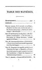 Observations sur l'ouvrage de m. Fiévée, intitulé; 'Histoire de la session de 1815'.