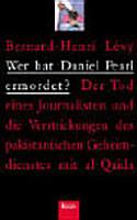 Wer hat Daniel Pearl ermordet   PDF