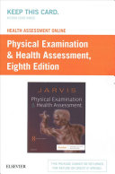Health Assessment Online for Physical Examination and Health Assessment  Version 4  Access Code  PDF