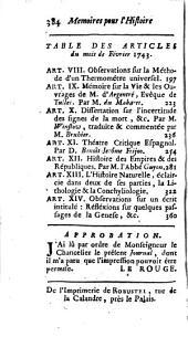 Journal de Trévoux: Volume1