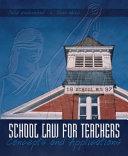 School Law for Teachers