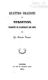 Quattro orazioni de Demostene