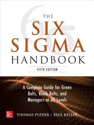 The Six Sigma Handbook  5E
