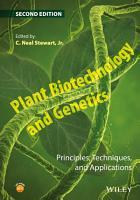 Plant Biotechnology and Genetics PDF