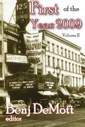First Of The Year 2009 Book PDF