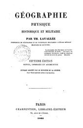 Gèographie physique, historique et militaire par Th. Lavallée