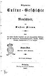 Allgemeine Cultur-Geschichte der Menschheit von Gustav Klemm: China und Japan, Band 6
