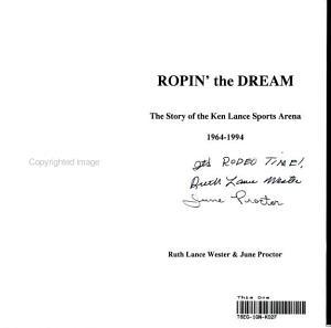 Ropin  the Dream PDF