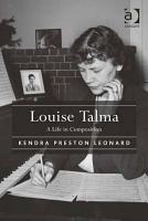 Louise Talma PDF