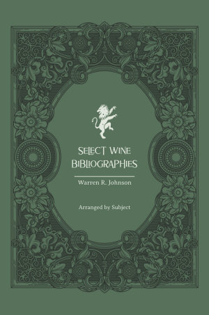 Select Wine Bibliographies