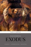 Discovering Exodus PDF