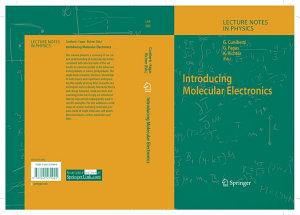 Introducing Molecular Electronics PDF
