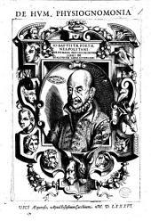 Io. Baptistae Portae Neapolitani De humana physiognomonia libri 4 ..