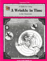 A Guide for Using a Wrinkle in Time in the Classroom PDF