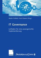 IT-Governance: Leitfaden für eine praxisgerechte Implementierung