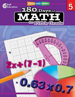 180 Days of Math for Fifth Grade Book