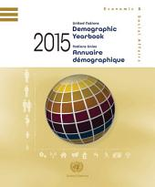 United Nations Demographic Yearbook 2015. Issue 66