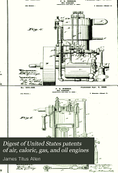 Digest of United States Patents of Air, Caloric, Gas, and Oil Engines: Volume 1