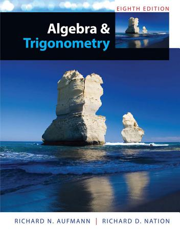 Algebra and Trigonometry PDF