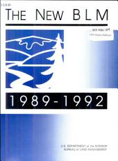 The New BLM: 1989-1992
