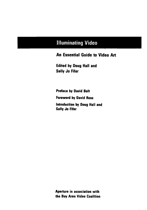 Illuminating Video PDF
