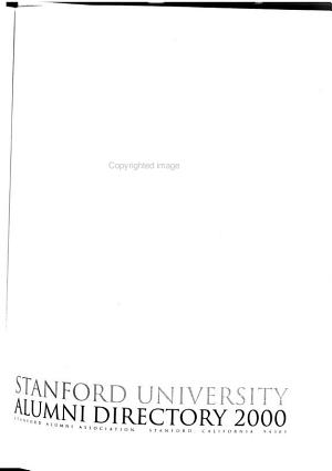 The Stanford Alumni Directory