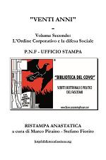 Venti Anni - Volume Secondo