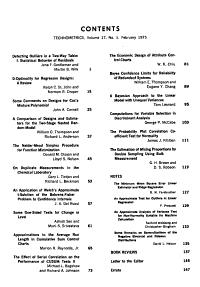 Technometrics PDF