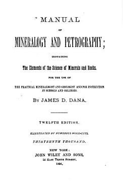 Manual of Mineralogy and Petrography PDF