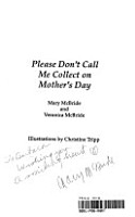 Please Don t Call Me Collect on Mother s Day PDF