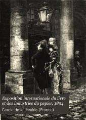 Exposition internationale du livre et des industries du papier, 1894