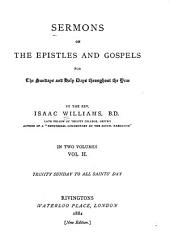 Sermons on the Epistles and Gospels for the Sundays and Holy Days Throughout the Year: Volume 2