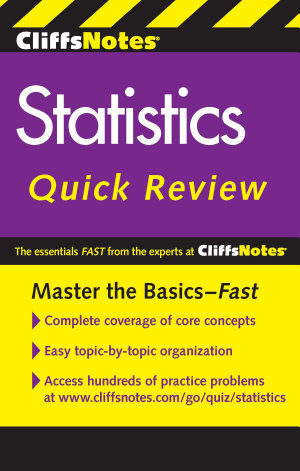 CliffsNotes Statistics Quick Review  2nd Edition