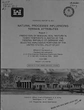 Natural Processes Influencing Terrain Attributes PDF