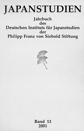 Japanstudien  Band 13 2001 PDF