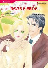 Never a Bride: Harlequin Comics